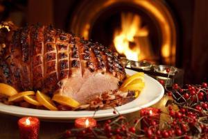 015 Christmas ham