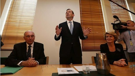 Prime Minister Tony Abbott's pledge to change his leadership style has political comics concerned.