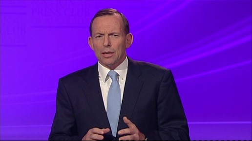 Tony Abbott's promise to change his leadership style has unnerved comics""