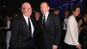 Tony and Rupert in happier times.