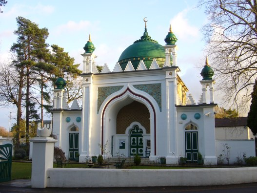 A random Mosque with no connection to the Charlie Hedbo killers. It is unknown whether every attendee has condemned the killings.