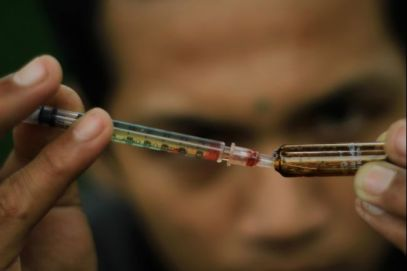 Indonesia's heroin problem is now totally eradicated.
