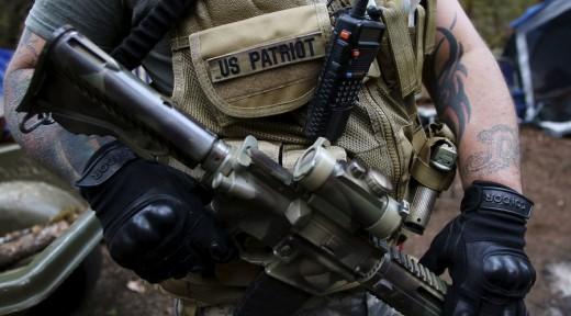 us militiaman