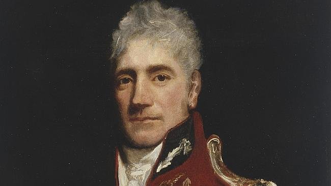 Lachlan Macquarie artist unknown. c 1819