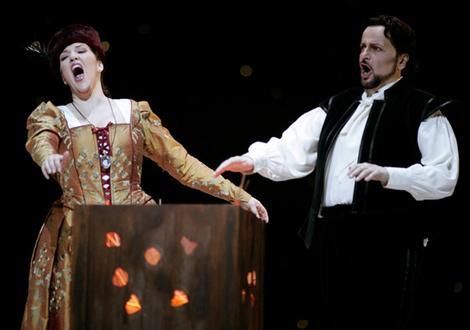 Canadian soprano Adrianne Pieczonka and US tenor Franco Farina.